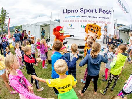 Přijďte se rozhýbat na Lipno Sport Fest!