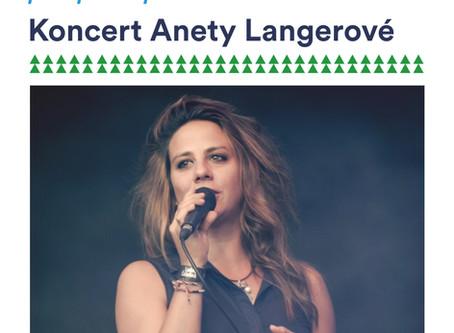 Koncert Anety Langerové