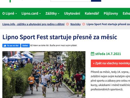 Lipno Sport Fest startuje přesně za měsíc