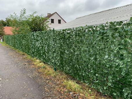 Díky podpoře Jihočeského kraje máme nový plot