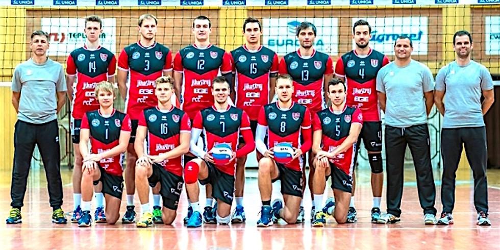 Exhibiční zápas hráčů beach volejbalu VK Jihostroj ČB
