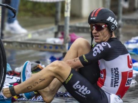 Hansen, král cyklistické Grand Tour, si v Račicích zkusil triatlon