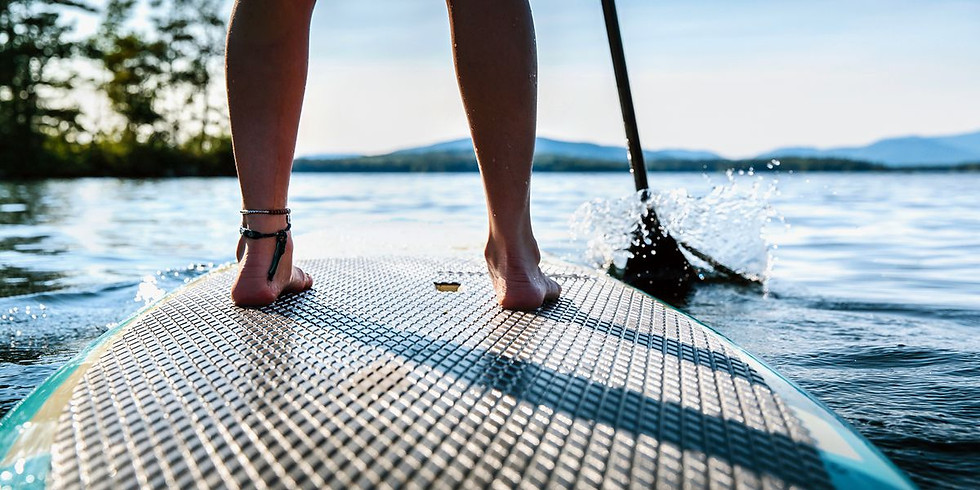 Výuka na paddleboardech s lektorem