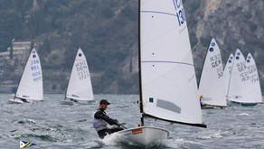 Štěpán Sivý vybojoval v Itáli na jezeře Lago di Garda skvělé druhé místo