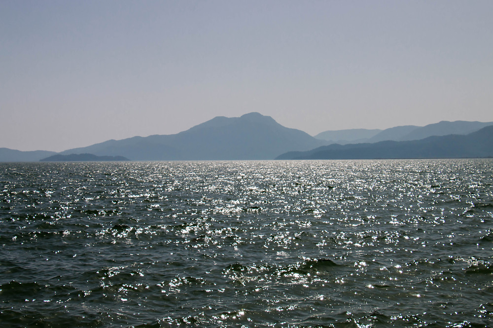 Koycegiz view of the lake