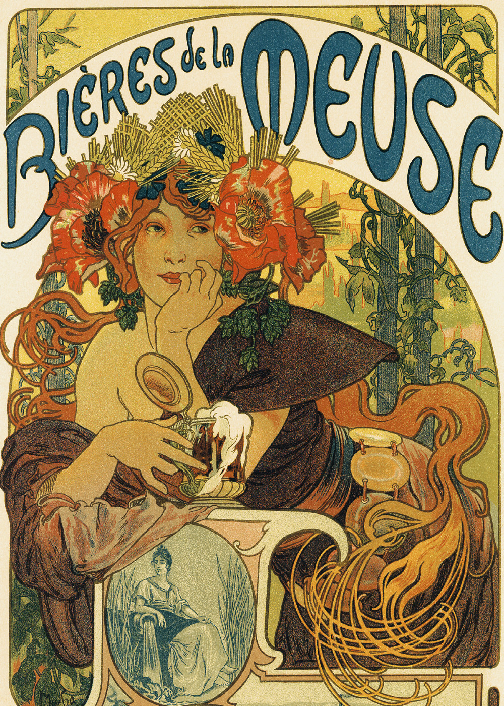 Alfons Mucha Art Nouveau