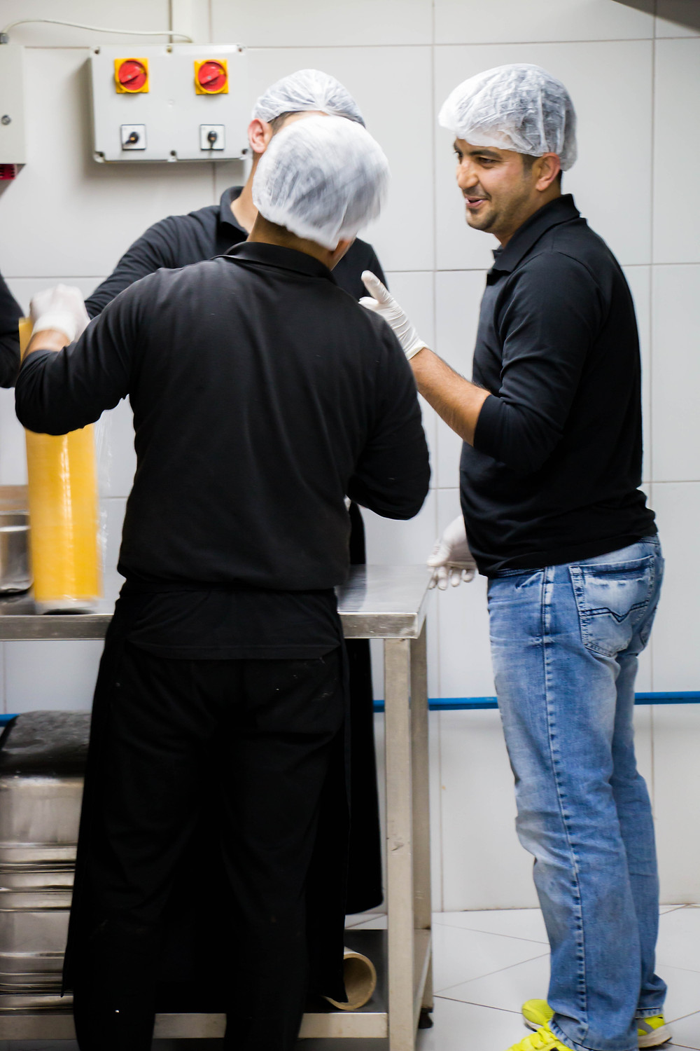 Delivery Work With the Kitchen Staff