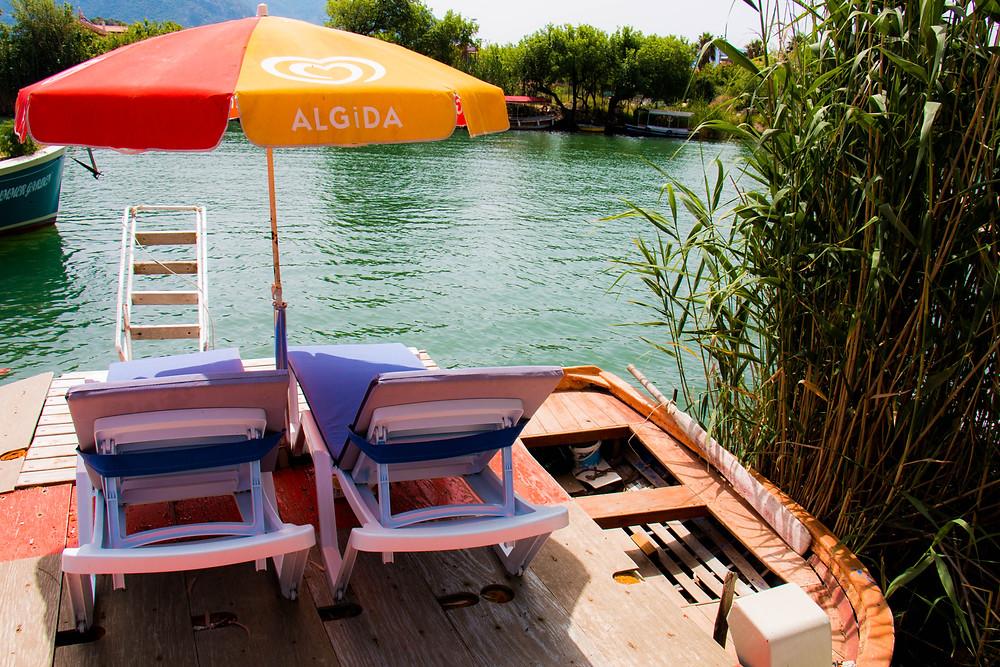 The Villa's Rowing Boat