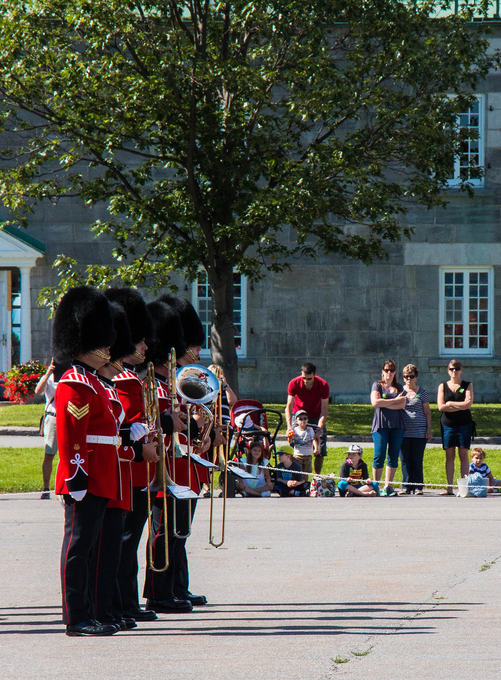 Changing of the Guard, The Citadelle Québec City