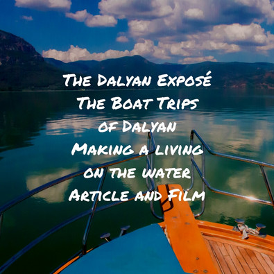 Discovering Dalyan - The Boat Trips: Making a Living on the Water
