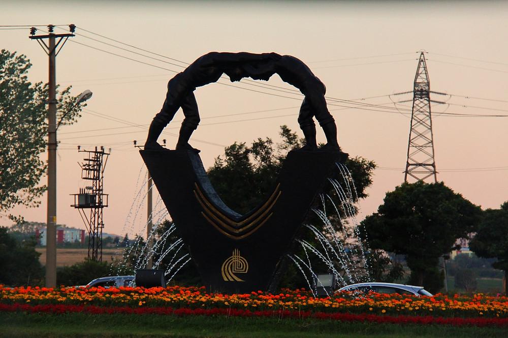 The Kirkpinar Statue