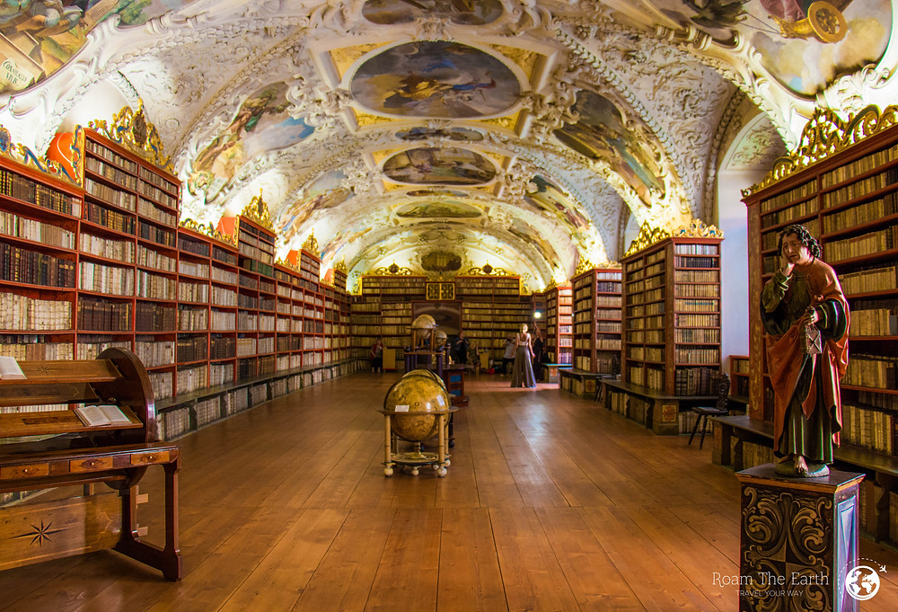 Theological Hall Strahov Library Prague