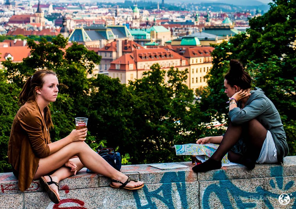 Leona Beer Garden Prague