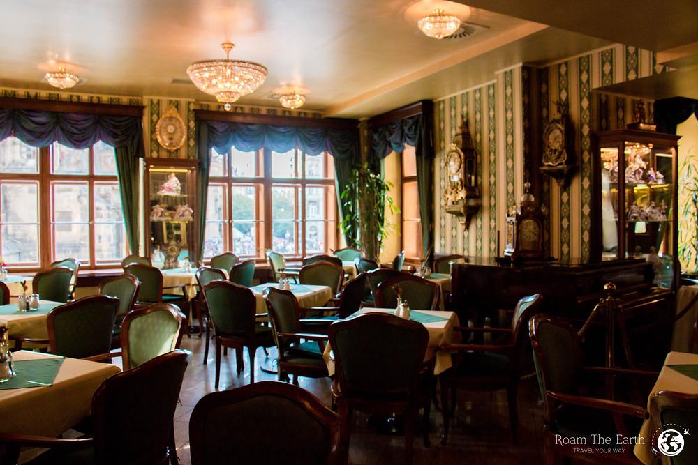 Cafe Mozart Prague