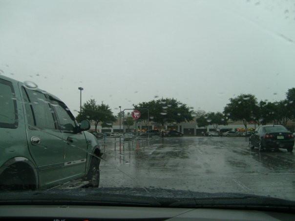 Rain in Tampa
