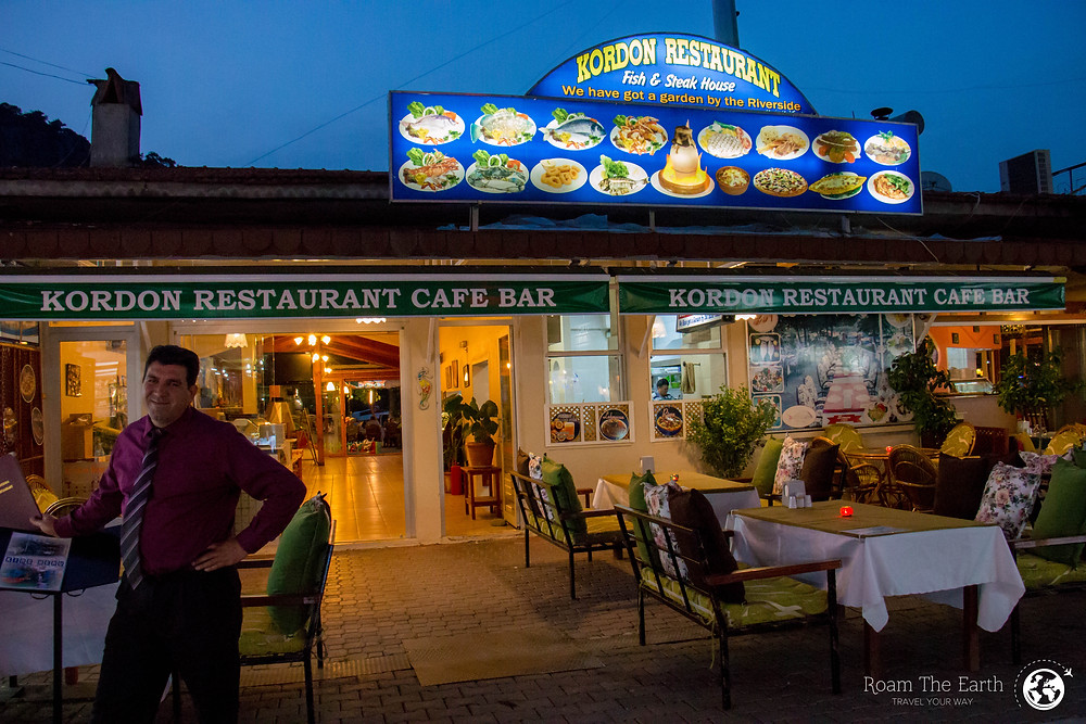 Kordon Restaurant Dalyan