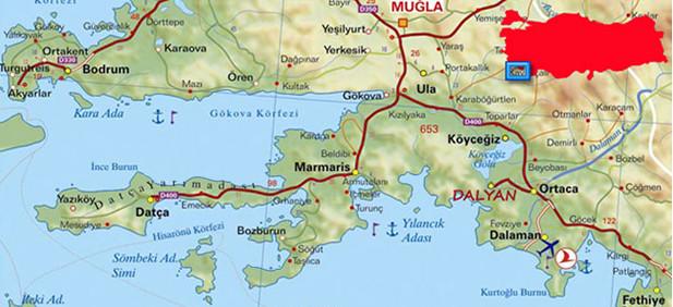 Dalyan Eco Trail, Turkey