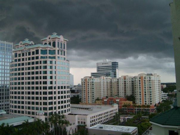 Stormy Skies in Fort Lauderdale