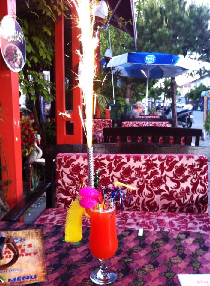 Sinan's Place Dalyan Cocktails