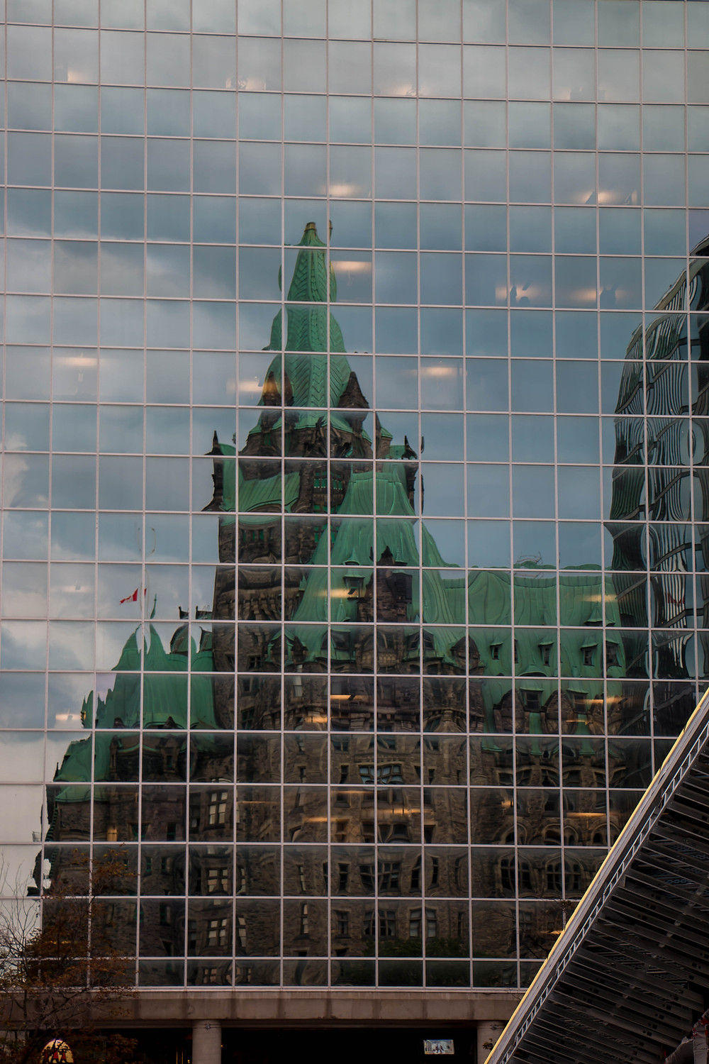 Reflections of Parliament, Ottawa, Canada