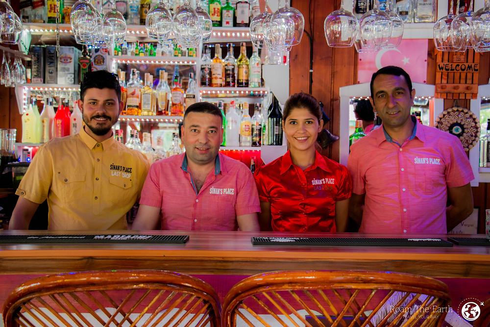 Sinan's Place Dalyan Staff