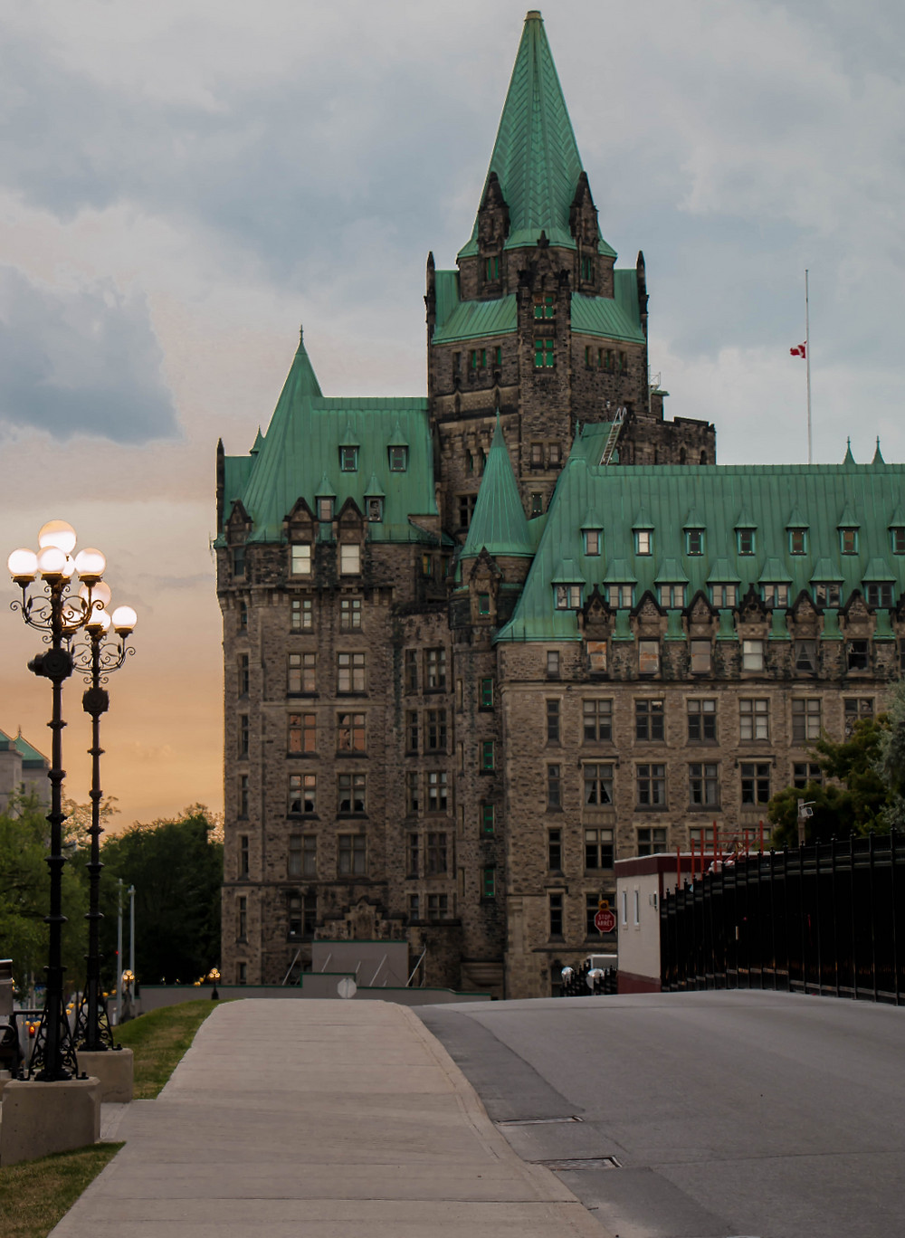 The Sun Sets Over Parliament