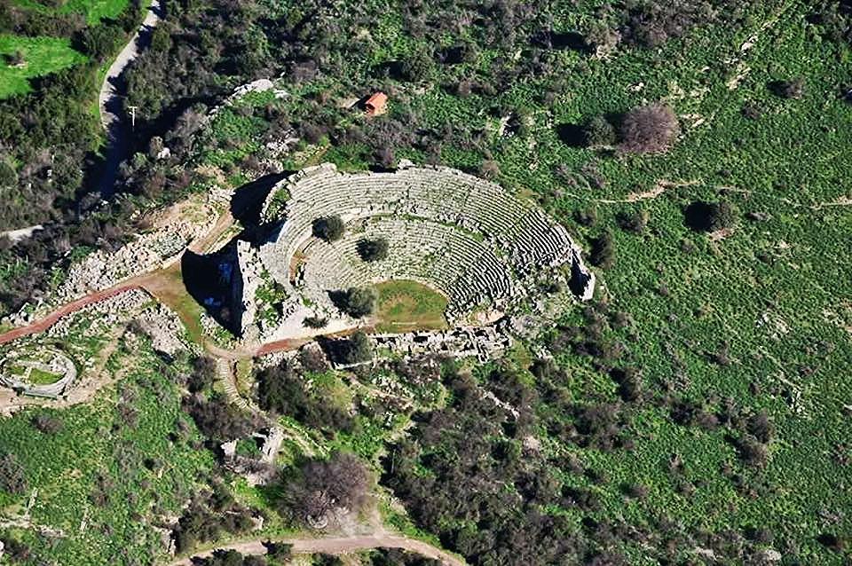 The Kaunos Amphitheatre