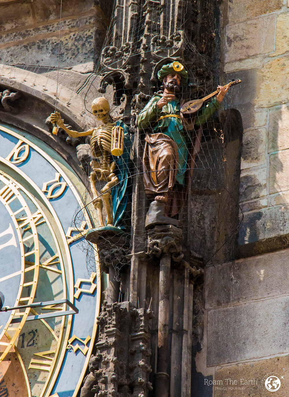 Astronomical Clock Skeleton