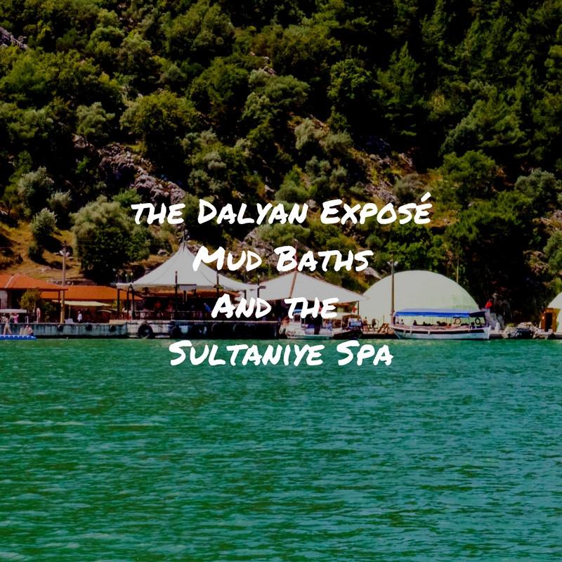 Mud Baths Dalyan Turkey