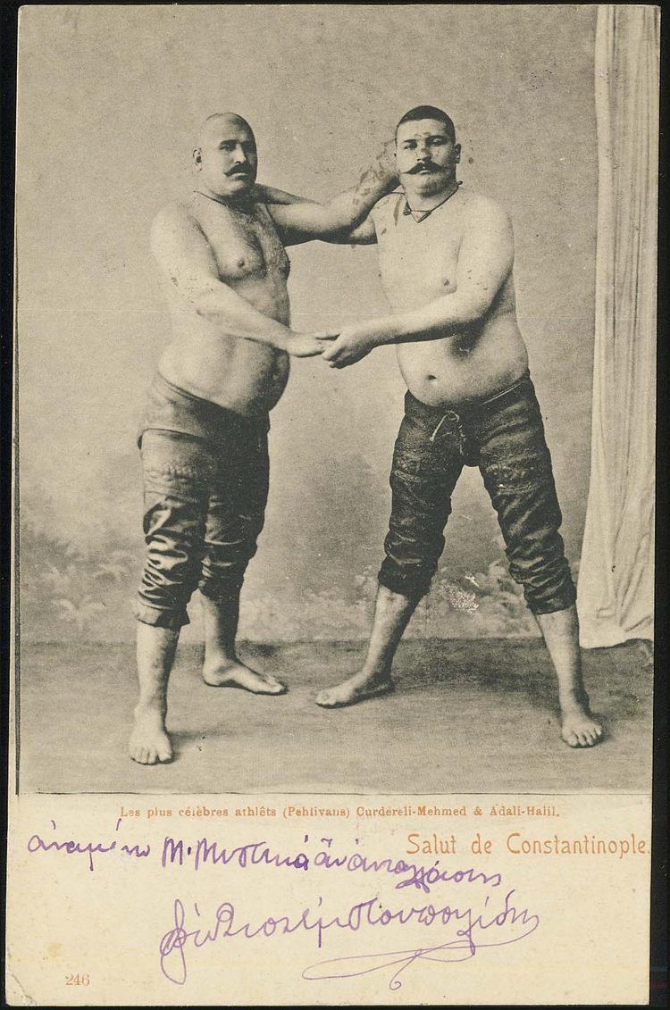 Ottoman Oil Wrestlers