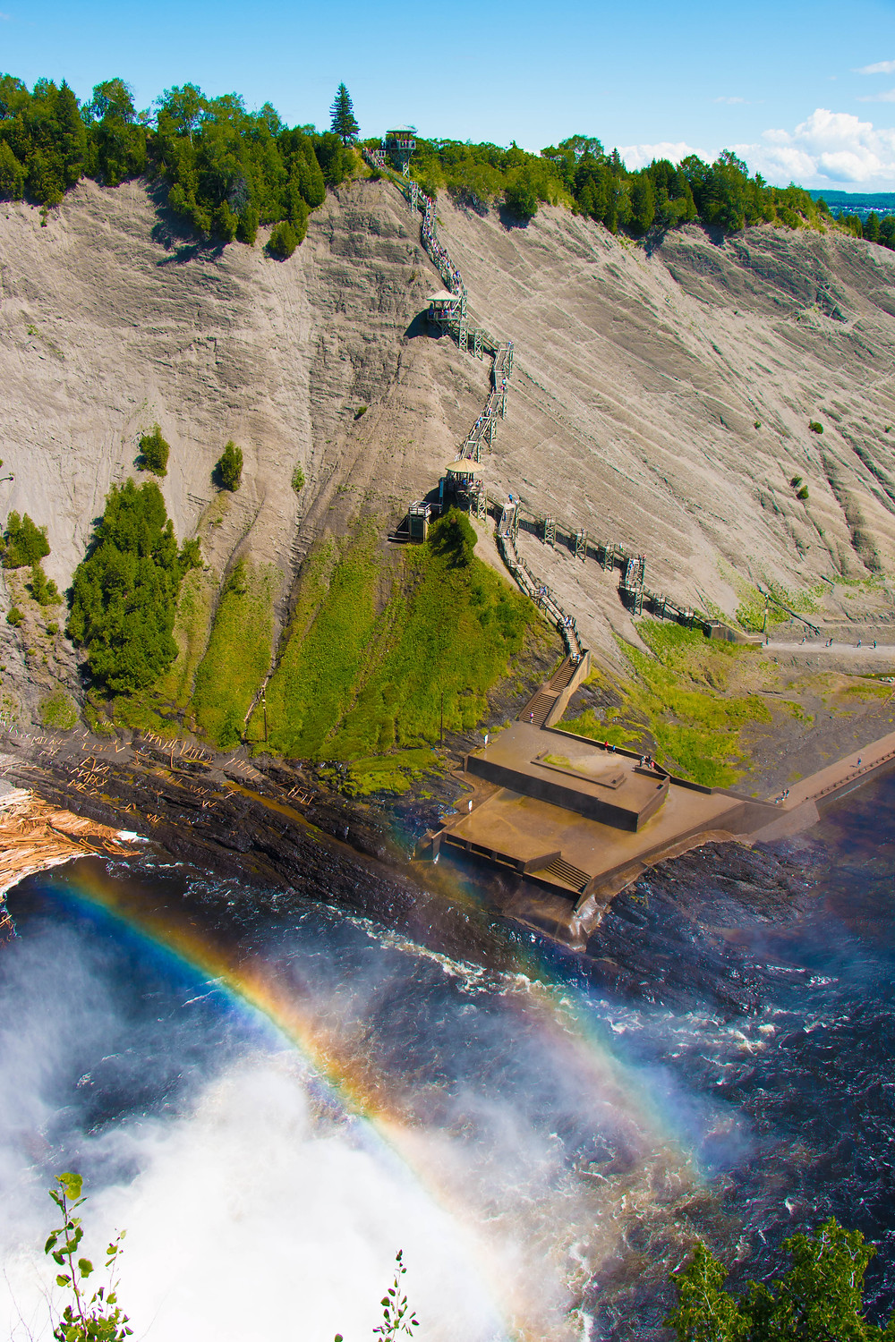 The Never-ending Staircase, Montmorency Falls