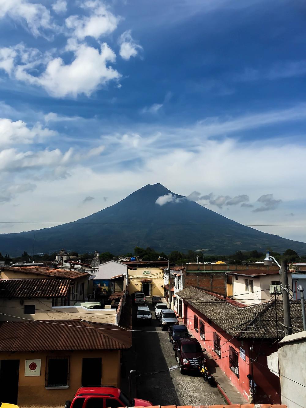Volcan de Agua, Antigua de Guatemala