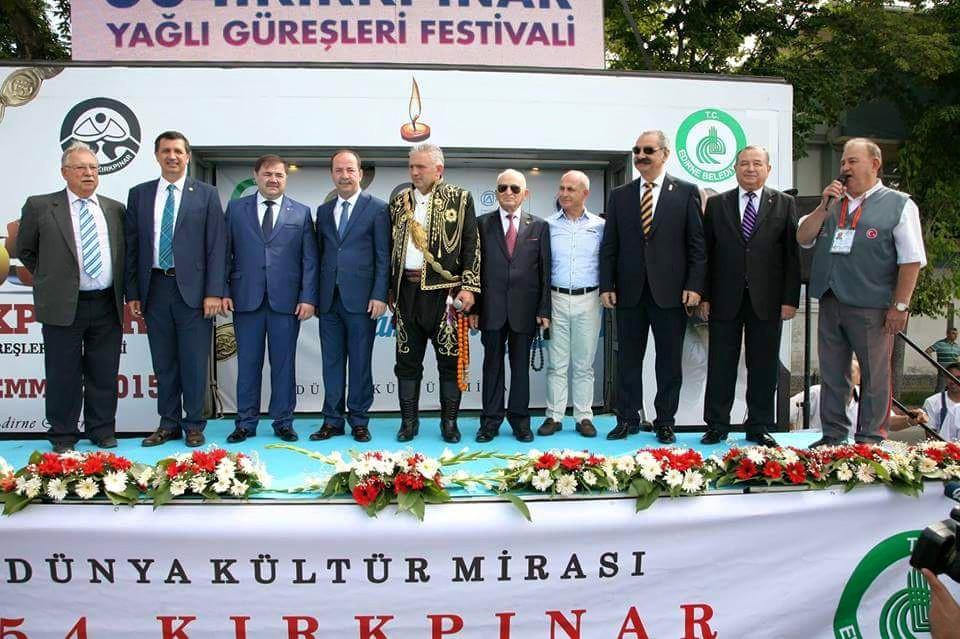 The Aga and his dignitaries