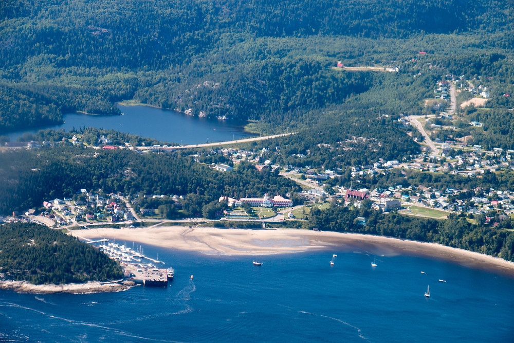 Tadoussac From the Sky
