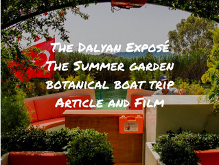 Discovering Dalyan - The Summer Garden Botanical Boat