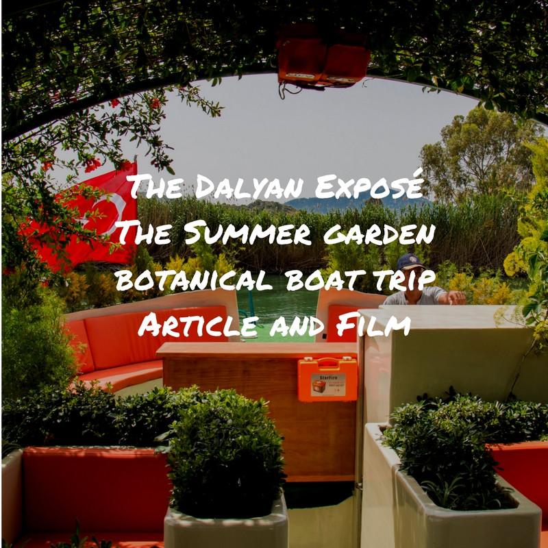 Summer Garden Boat Trip Dalyan