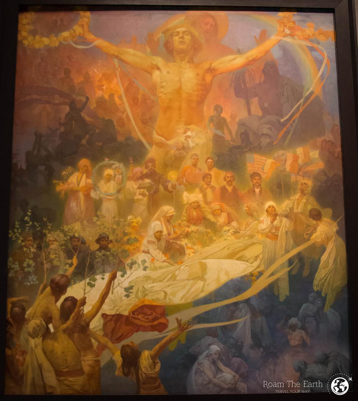 Slav Epic Alfons Mucha Prague