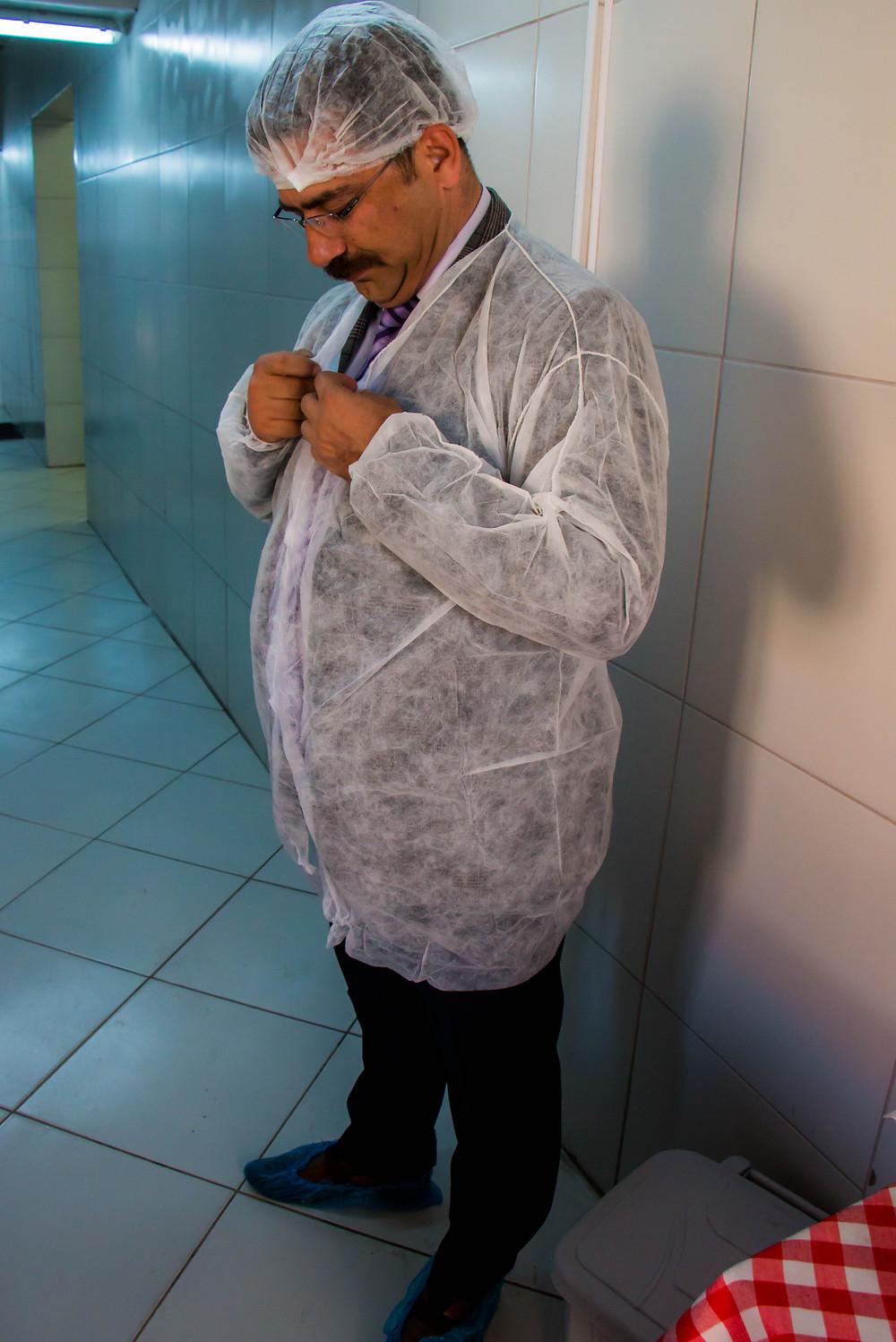School Principal Ilan Kucukunal