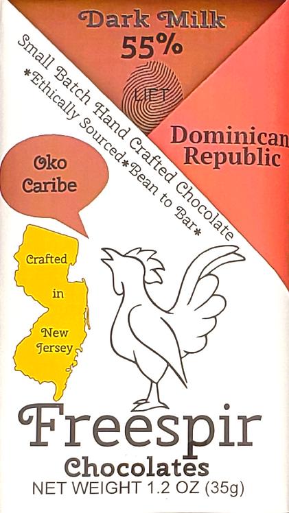 55% Dark Milk - Dominican Republic