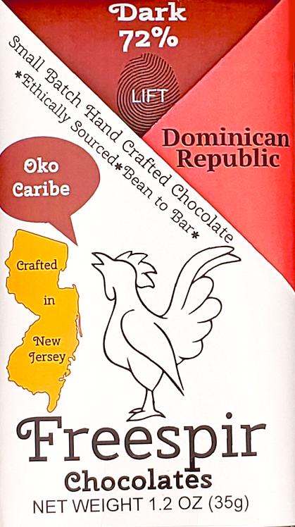 72% Dark - Dominican Republic