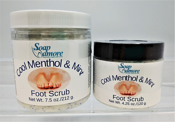 Cool Menthol & Mint Foot Scrub