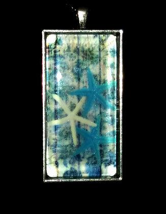 Blue Starfish Pendant
