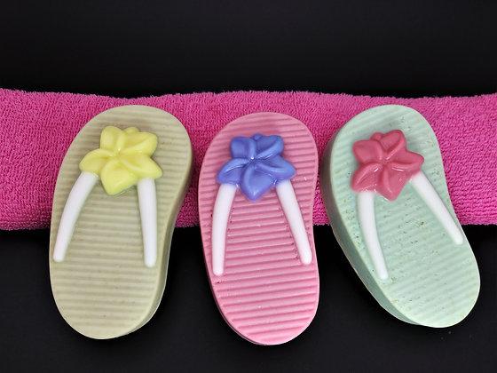 Loofah Flip Flops
