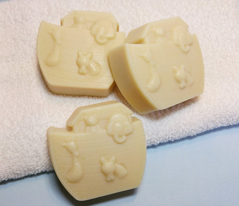 Gentle Baby Soap made with Goat's Milk