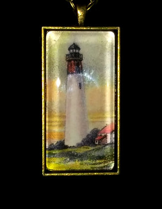 Old Lighthouse Pendant