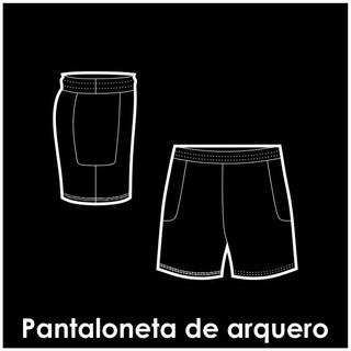 Pantaloneta de arquero