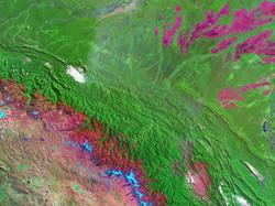 panorama Tambopata & Heath River basin