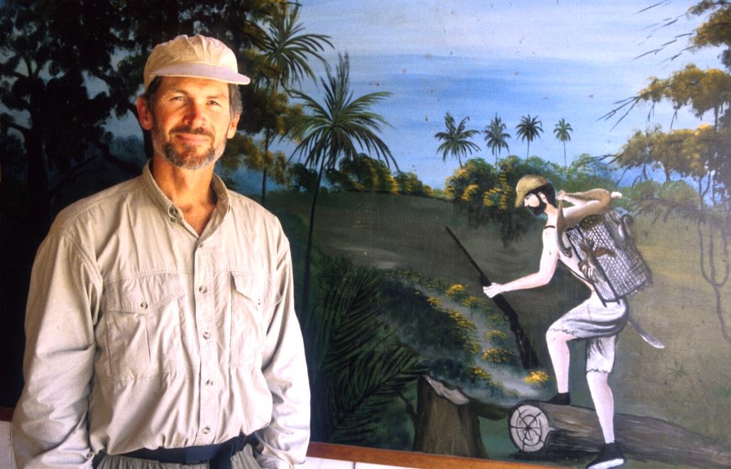 Bruce at Puerto Maldenado bar