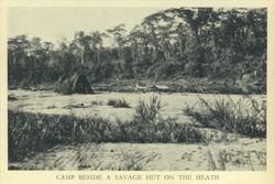 Savage hut on Heath (Fawcett photo)