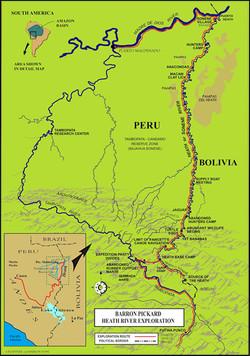 Barron Pickard Heath Expedition Map